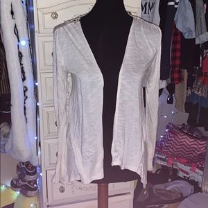 White Xhilaration Cardigan